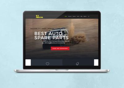 4Wheel Website Design