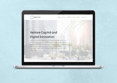AB Ventures Website Design