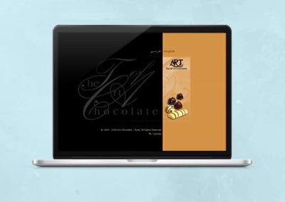Art Chocolate Website Design