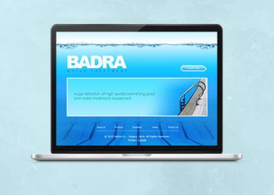 Badra Water Treatment Website