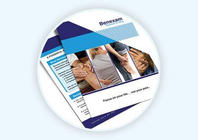Benexam Flyer Design
