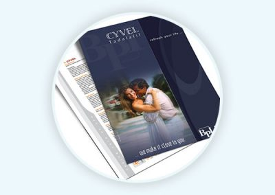 Cyvel – Flyer Design