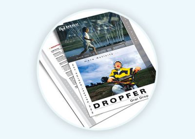 Dropfer – Flyer Design