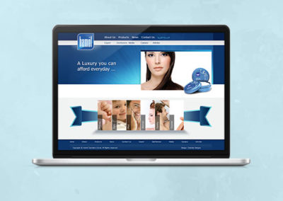 Hamol Website Design