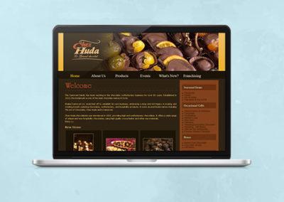 Chez Huda Website Design