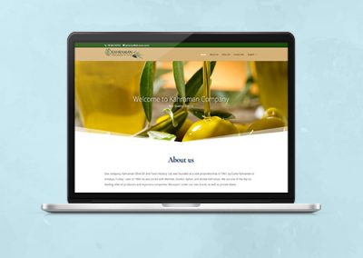 Kahraman Olive Oil Website