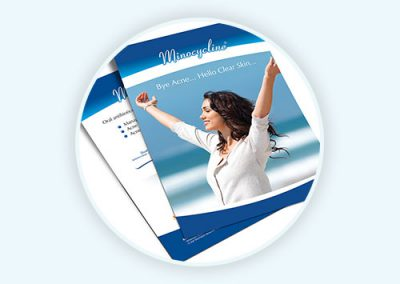 Minocycline Flyer Design