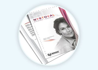 Nystoval Flyer Design