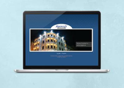 Ramsis Hotel Website Design