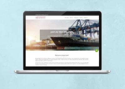 Syrachem Website Design