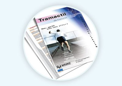 Tramactil Flyer Design