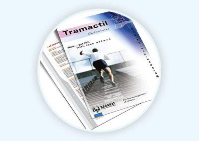 Tramactil Flyer Design