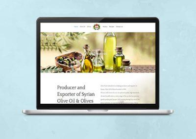 Zeno Olive Oil Website